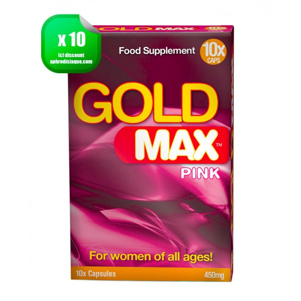 Gold Max Pink x10