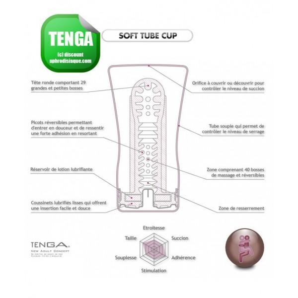 Tenga Cool Soft Tube Cup