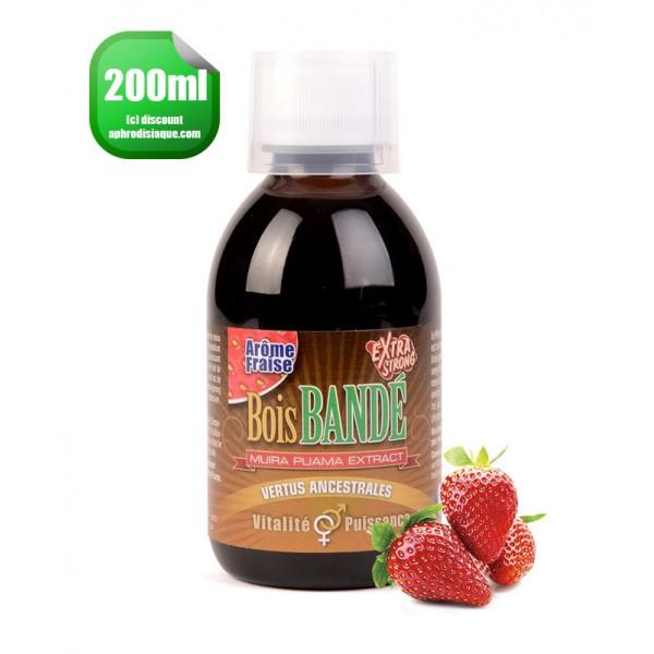 Bois Bandé Fraise